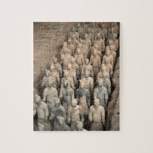 Terracotta Army China Jigsaw Puzzles