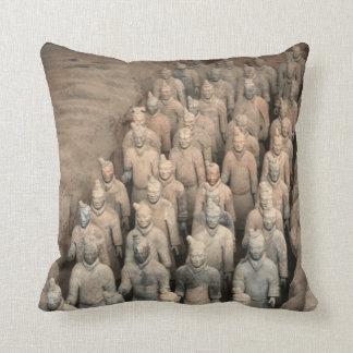 Terracotta Army China Throw Pillow