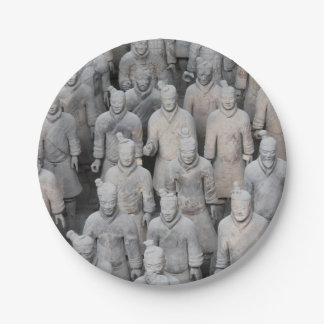 Terracotta Army Paper Plates