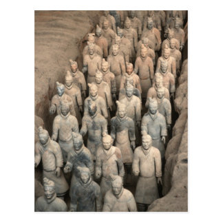Terracotta Army Post Card