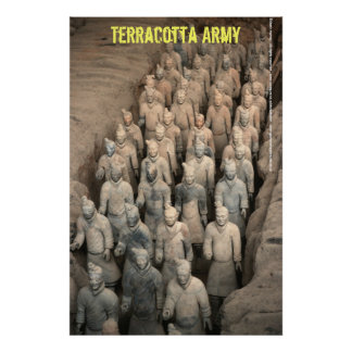 Terracotta Army Print