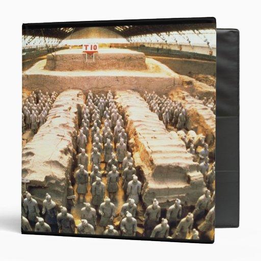 Terracotta Army, Qin Dynasty, 210 BC Binder