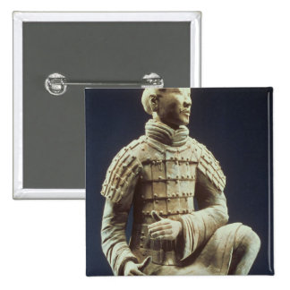 Terracotta Army, Qin Dynasty, 210 BC Button