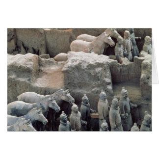 Terracotta Army, Qin Dynasty, 210 BC Greeting Cards