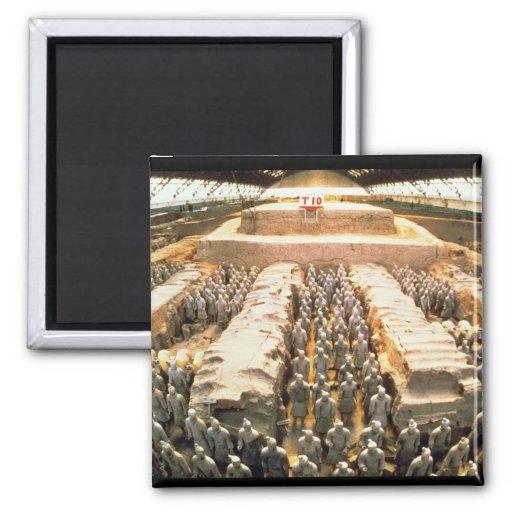 Terracotta Army, Qin Dynasty, 210 BC Refrigerator Magnets