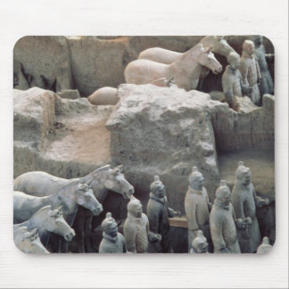 Terracotta Army Qin Dynasty 210 BC Mousepad