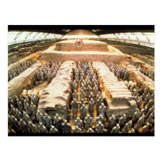 Terracotta Army, Qin Dynasty, 210 BC Post Cards