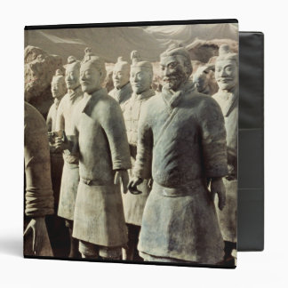 Terracotta Army, Qin Dynasty, 210 BC; warriors Binder