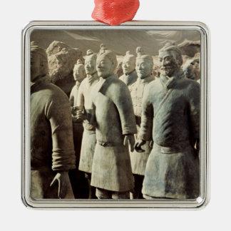 Terracotta Army, Qin Dynasty, 210 BC; warriors Metal Ornament