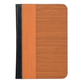 Terracotta Clay Bamboo Border Wood Grain Look iPad Mini Case
