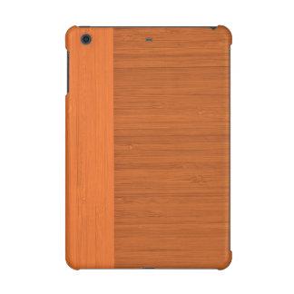 Terracotta Clay Bamboo Border Wood Grain Look iPad Mini Retina Cases
