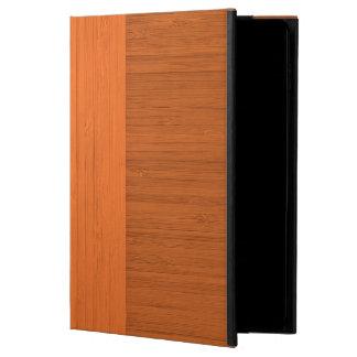 Terracotta Clay Bamboo Border Wood Grain Look Powis iPad Air 2 Case