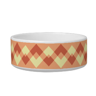 Terracotta color pattern. bowl