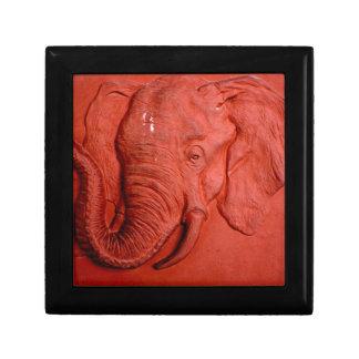 """""""Terracotta Elephant"""" by Carter L. Shepard"""" Jewelry Box"""