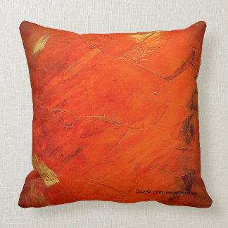 Terracotta Faux Finish Pattern Throw Pillows