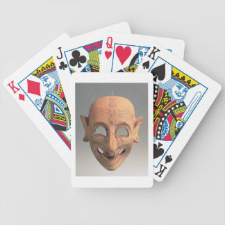 Terracotta grinning mask from San Sperate, 6th-5th Bicycle Playing Cards
