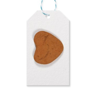 Beach Themed Terracotta Heart Gift Tags