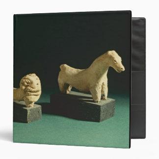 Terracotta lion and horse, Mohenjodaro 2300-1750 B Binders