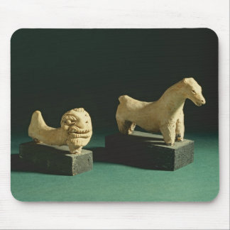 Terracotta lion and horse Mohenjodaro 2300-1750 B Mouse Pads