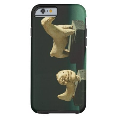 Terracotta lion and horse, Mohenjodaro 2300-1750 B Tough iPhone 6 Case
