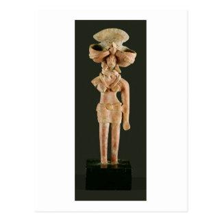 Terracotta Mother Goddess, Mohenjodaro, 2300-1750 Postcard