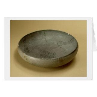 Terracotta painted grey ware, Hastinapur, 800-400 Card