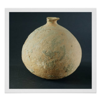 Terracotta pot, Kalibangan, 2300-1750 BC Poster