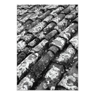 Terracotta roof tiles invite