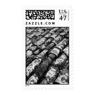 Terracotta roof tiles stamp