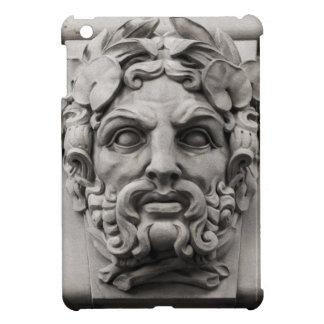 Terracotta Stone Faces on Historic Building iPad Mini Cases