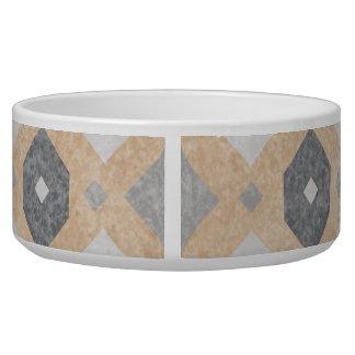 Terracotta Vintage Tiles Design Bowl