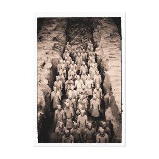 Terracotta Warriors Canvas Print