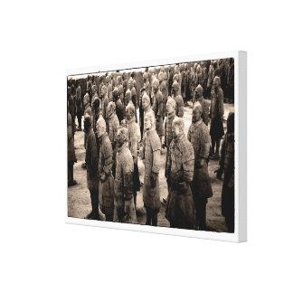 Terracotta Warriors No2 Stretched Canvas Prints