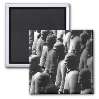 Terracotta Warriors Xian China Photography Photo 2 Inch Square Magnet