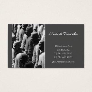 Terracotta Warriors Xian China Photography Photo Business Card