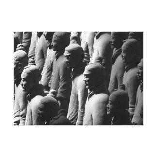 Terracotta Warriors Xian China Photography Photo Canvas Print