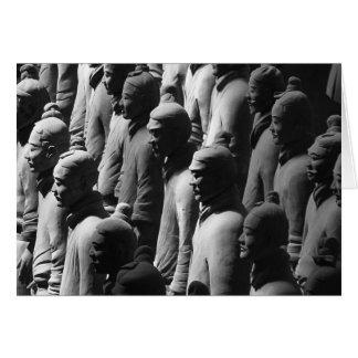 Terracotta Warriors Xian China Photography Photo Card
