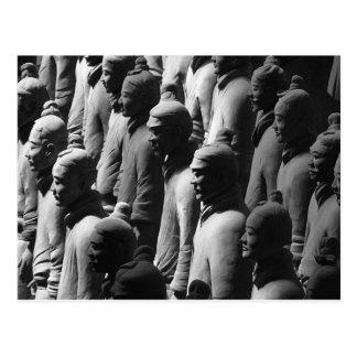 Terracotta Warriors Xian China Photography Photo Postcard