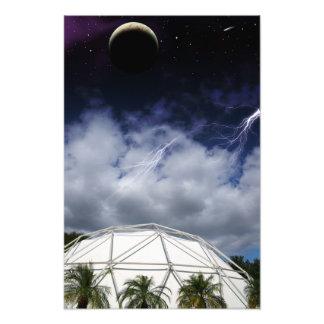Terraforming Dome Photo Print