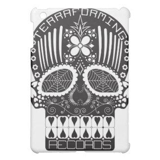 Terraforming Records Black Skull iPad Cover