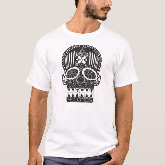 Terraforming Records Black Skull T-Shirt