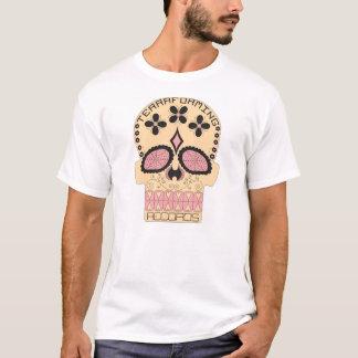 Terraforming Records Pastel Skull T-Shirt