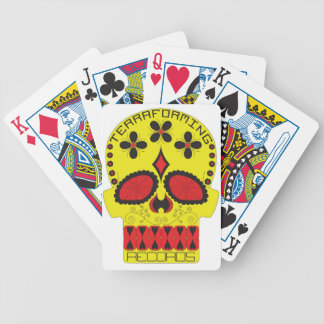 Terraforming Records Red and Yellow! Playing Cards