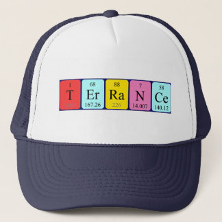 Terrance periodic table name hat