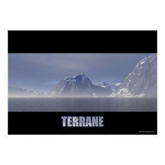 Terrane Poster