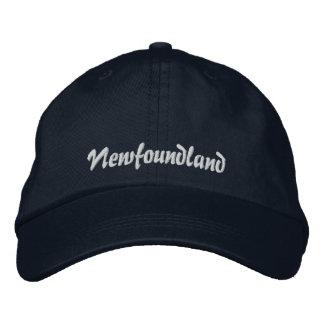 Terranova bordó el gorra gorra de béisbol bordada