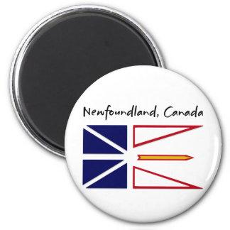 Terranova Canadá Imán Redondo 5 Cm