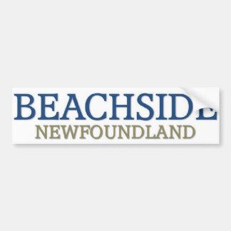 Terranova de la playa pegatina para auto
