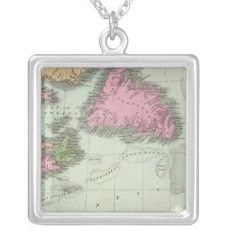 Terranova Nueva Escocia y Nuevo Brunswick Colgante Cuadrado