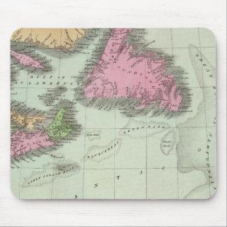 Terranova Nueva Escocia y Nuevo Brunswick Alfombrillas De Ratón